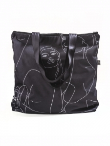 TORBA FIO SHOPPER-BLACK FACES