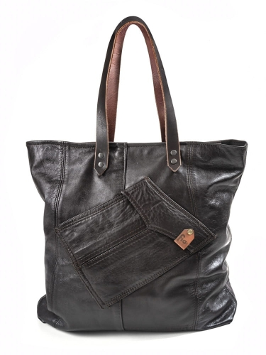 TORBA FIO SHOPPER - BROWN